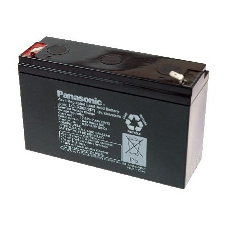 Panasonic LC-R0612P1  6.0V-12000mAh